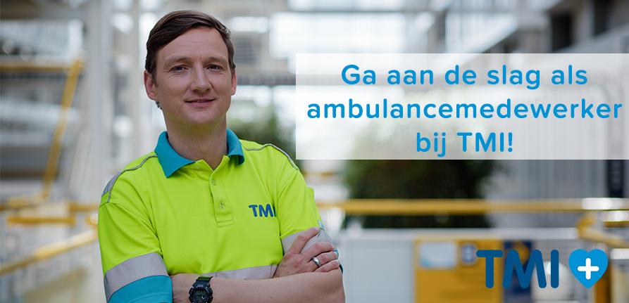 Ambulancemedewerker bij TMI